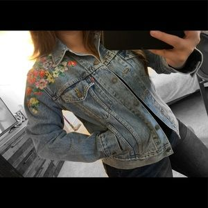 Levis embroided jacket